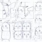 ピカチュウの描き方-その2